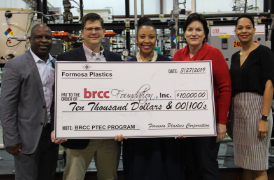 BRCC's PTEC program receives two generous gifts in March 2019