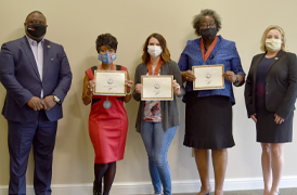 Six BRCC Faculty Members Recognized with 2020 NISOD Excellence Awards