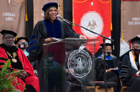 BRCC Confers Degrees for More Than 700 students During Spring 2021 Commencement Ceremony