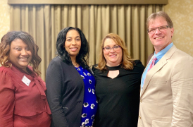 Four BRCC staffers present at annual Leadership Education Research Association (LERA) conference