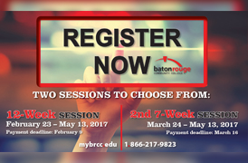 Registration for Upcoming BRCC Sessions Underway