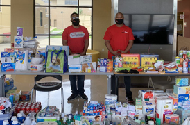 Bears Care drive for SOWELA hurricane relief a huge success