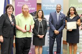 BRCC's STEM Division awarded Environmental Leadership Program Award
