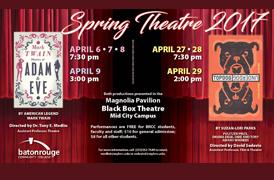BRCC Theatre to present two award-winning productions