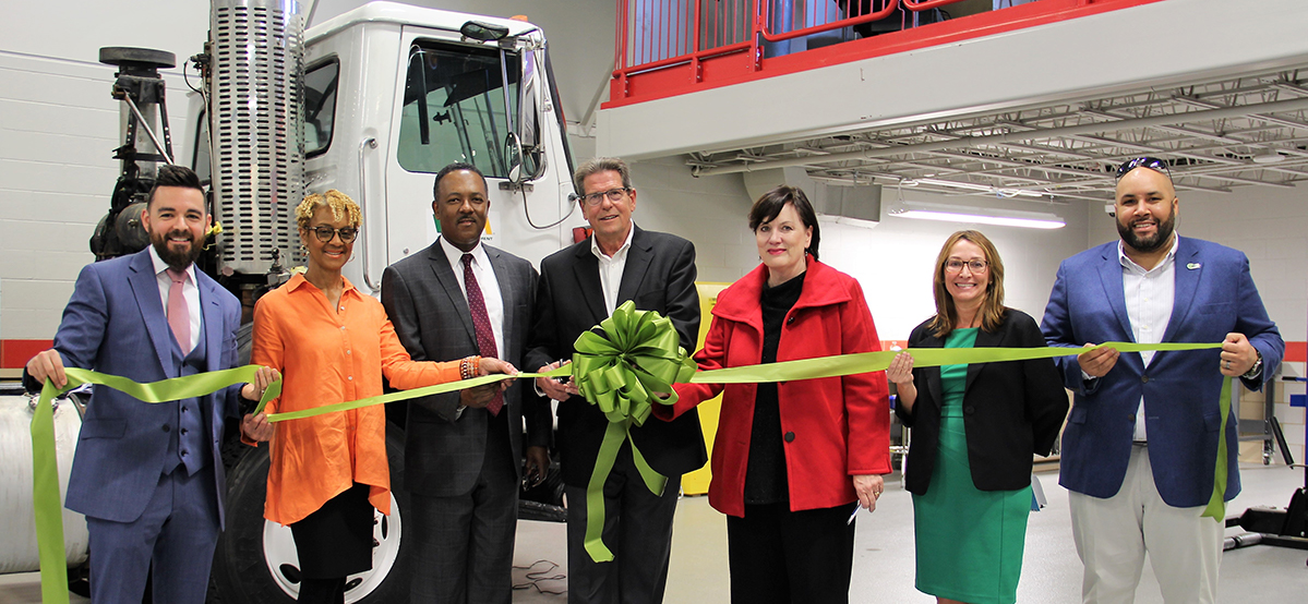 Waste Management announced a new partnership with Baton Rouge Community College (BRCC) and its McKay Automotive Training Center.