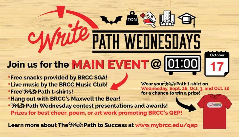 Write Path Wednesdays | BRCC
